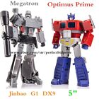 New In Stock JINBAO Action Figure Optimus Prime Megatron G1 MP10 Enlarged DX9 5""