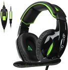 Xbox One PS4 Mac PC Gaming Headset 3.5mm wired Over-ear Noise Isolating Mic
