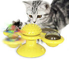 Cat Interactive Windmill Toy Cat Chew Ball  Toothbrush Massage Scratch Practical