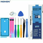 For iPhone 5/5S/6S 6/7 Plus Battery NOHON High Capacity Power Replacement