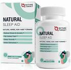 Natural Sleep Aid with Melatonin and L-Theanine - Strong Sleeping Pills for Inso