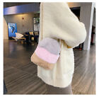 Zipper Bag Card Wallet pocket Rabbit fur Case Cover For LG Stylo 6/K31/iphone 12