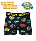 Crazy Boxers Men's Boxer Briefs Star Wars COLORFUL NEW IN PACKAGE FREE SHIPPING!
