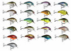 13 Fishing Scamp 1.5/2.5 Squarebill Crankbait Shallow Diving Bass Hard Bait