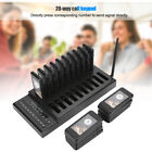 Wireless Cafe Calling Queue System Coaster Pager 20-Channel Keyboard Host GIP