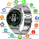 Waterproof Bluetooth Smart Watch Heart Rate Blood Pressure Sport For Android IOS