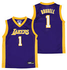 Outerstuff NBA Youth (4-18) Los Angeles Lakers D'Angelo Russell #1 Player Jersey