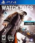 Playstation PS4 WATCH DOGS game by Ubisoft complete & excellent condition