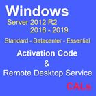 Rds Host All Product Of TS W sv 2016 2019 2012r2 Essentials/Datacenter/Standard