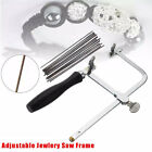 Adjustable Jewellers Piercing Saw Frame Jewellery Making Tool & Saw Blades Tools