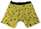 Vans Off The Wall Men's Peanuts Snoopy Charlie Brown Knit Boxer Brief Underwear