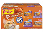 Purina Friskies Canned Wet Cat Food 40 Pack ct. Variety Packs 5.5 Oz