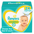 Pampers Swaddlers Disposable Diapers *Preemie, Newborn, 1, 2, 3, 4, 5, 6, 7