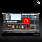 Moreart 1:64 McDonald's Model Diorama Fast Food Shop Scenery Photo Background