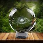 Starry Sky Crystal Ball Home Decor Stand Sphere Holder Display 3d Gift