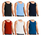 3 Pack Mens Vests Plus Size Cotton Summer Gym Training Tank Tops Underwear S-5XL