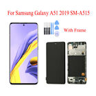 For Samsung Galaxy A51 A515 LCD Display Touch Screen Digitizer Replacement Frame