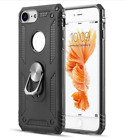 iPhone 8 Case Heavy Duty Protective Ring-Grip Luxury Resistant Defender Black US