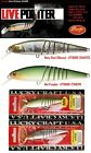 Lucky Craft Live Pointer 80MR Suspending Fishing Lures (Various Colors) CHEAPEST