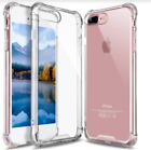iPhone 8 Plus Case Crystal Clear Hybrid Bumper Cover Shockproof Transparent NEW
