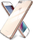 """iPhone 7 Plus Clear Crystal Premium Case TPU Slim Apple 5.5"""" inches Hybrid Cover"""