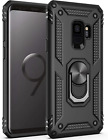 Samsung Galaxy S9 Plus Case Dual Layer Ring Kickstand TPU Protective Resistant