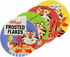 Kellogg's Tony the Tiger Frosted Flakes or Toucan Sam Froot Loops Plate Set of 4