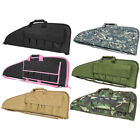 VISM Padded Rifle Bag PVC Tactical Airsoft Gun Case w/ Pouches by NcSTAR CV2907