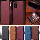Zipper Wallet Leather Flip Cover Case For Samsung A12 A42 A51 A32 A31 S20 FE S21