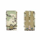Outdoor Universal 6 Inches Phone Case Pouch Tactical Military Molle Belt Bag USA
