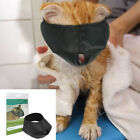 Cat Muzzle for Grooming Cutting Nails Pet Anti Bite Eye Calm Cover Nylon S M L