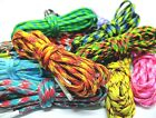 Multicolor Rope Shoe Laces For Air Max Asics ACG Keen Salomon Lowa Hiking Boots