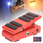 Guitar Wah‑Wah Pedal 2‑in‑1 Volume Effect for Electric Guitar Accessories DV 9V