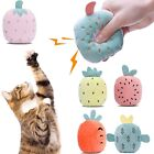 Grinding Catnip Toys Interactive Plush Cat Toy Pet Kitten Chewing Toy Claws