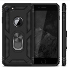 Iphone 7 Case Heavy Duty Kickstand Dual Layer Protective Cover Black