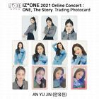 IZ*ONE 2021 One The Story Online Concert Trading card Photocard An Yujin KPOP