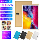 New 10.1 Android Tablet 10.0 8+128g Hd Pc Google Gps Dual Sim 5g Bluetooth
