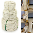 Natural Sisal Rope Cat Scratching Post Claw Control Toy Pet Crafts 33/66/165ft