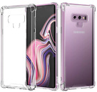 For Samsung Galaxy S9 Case Clear Shock Absorption Flexible Bumper TPU Cover Soft