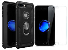 iPhone7 Plus 8Plus Case Protective Cover Screen Protector Full body Rugged Black