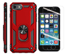iPhone 8 Plus Case Shockproof Full Body Protection Cover Tempered Glass Rugged