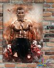 MIKE TYSON BOXING LEGEND, Custom Designed Metal Wall Sign-2 sizes(#2)Prints/ Posters - 31634