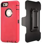 Apple iPhone 8 Plus Case Resistant TPU Kickstand Protective Shockproof Cover RED