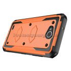 For  X Charge / LG X Power 2 /Case, Belt Clip Holster Cover With Tempered Glass