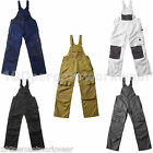 Mascot ORENSE Mens Work Bib and Brace Dungarees Overalls with Knee Pad Pockets
