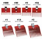 1 PIECE SPEED-O-GUIDE HAIR CLIPPER GUIDE COMB ATTACHMENT 7 SIZES TO CHOOSE