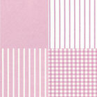 YARN DYED CHAMBRAY COTTON CLOTH BEDDING FABRIC SOLID STRIPE CHECK MATCH PINK 44""