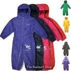 REGATTA PUDDLE  SUIT KIDS BREATHABLE WATERPROOF ALL IN ONE RAINSUIT CHILD SUIT