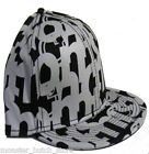 NWT Nomis BIG UP BLACK  Fitted Hat 7 1/2 7 5/8 LIMITED