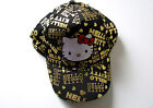 Girls Hello Kitty Baseball Cap Sun Hat Demin Sequins
